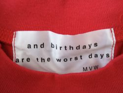 And birthdays are the worst days, 1998