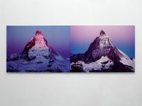 Flip a mountain - pink version, 2000