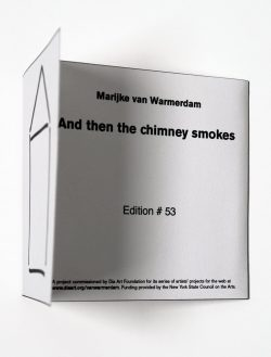And then the chimney smokes..., 2003